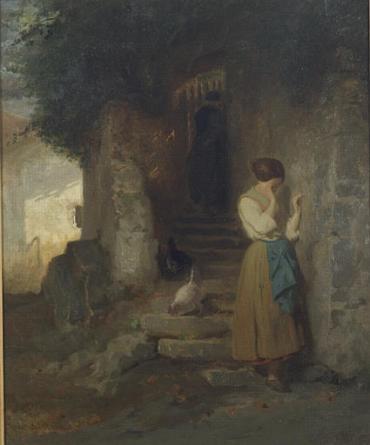 170318 Photo tableau de femme pleurant - Diodore Raoult