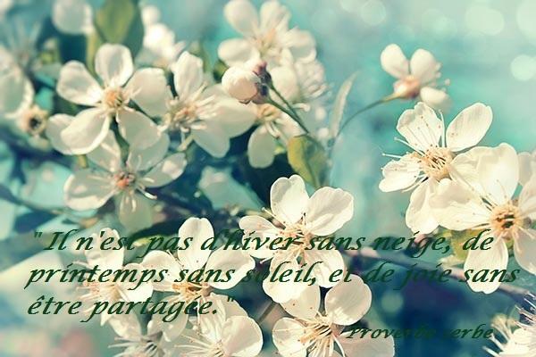 « Le printemps»
