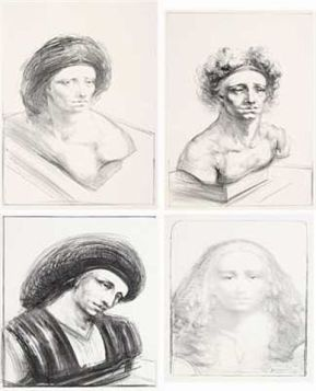 170319 Tableau thème humeur - Bjorn Ransve né en 1944 - peintre norvégien