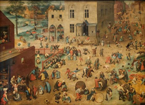 170319 Tableau thème humeur - pieter.brueghel.l...ancien..les.jeux.d...enfants.-1560-