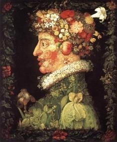 170320 Le printemps Arcimboldo 1527-1593 tableau peint en 1553