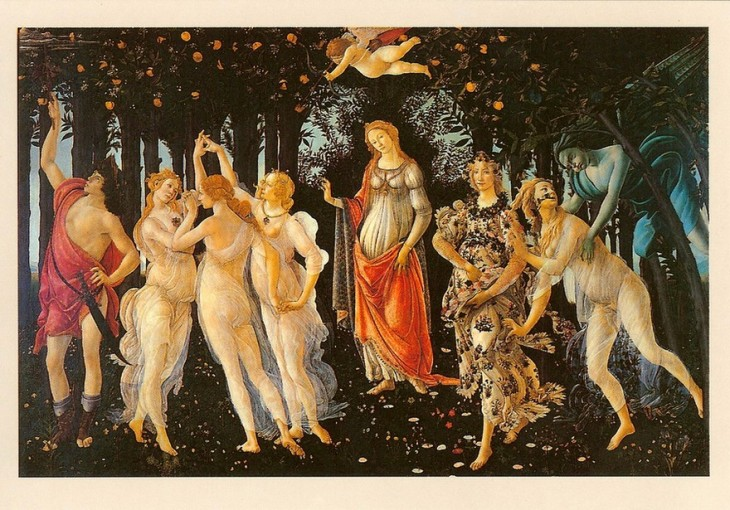 170320 Le_printemps 1480 tableau de Sandro Botticelli 1445-1510