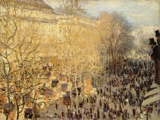 170323 Détail tableau de Monet - Le carnaval