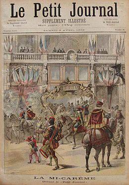 170323 Le Petit Journal - photo lors de la mi-carême