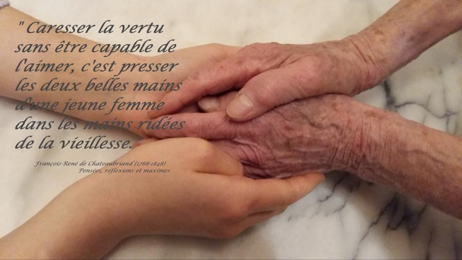 « La vieillesse»