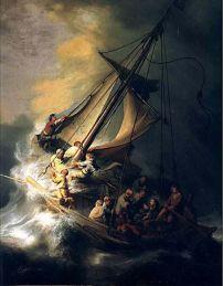 17 Rembrandt 1633 Le Christ Dans La Tempete Boston