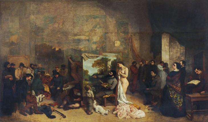 170331 Bilan Tableau de courbet oneline-atelier-peintre
