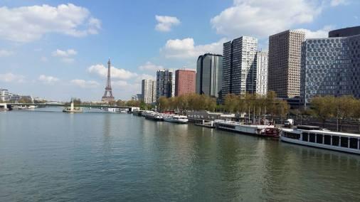 170404 Pont Mirabeau - Photo de la Seine