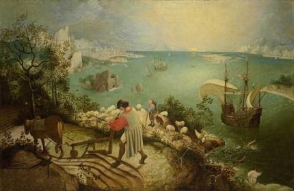 170412 La chute d'Icare peint par Brueghel