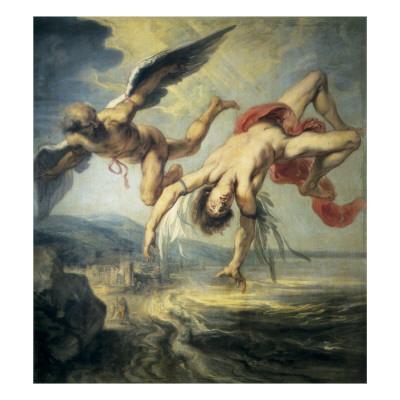 170412 La Chute d'Icare peint par Jacob Peter Gowi