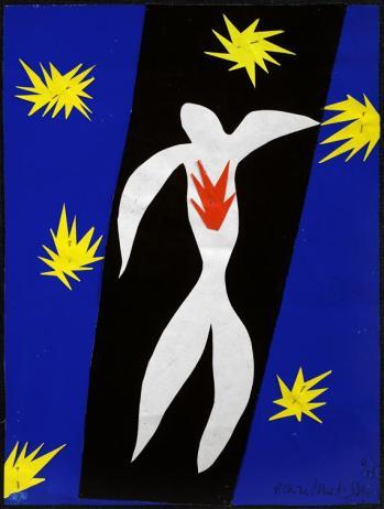 170412 La chute d'Icare peint par Matisse