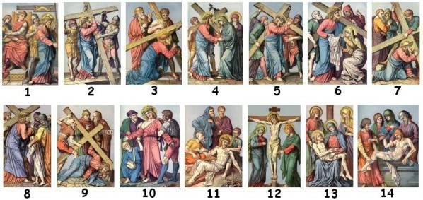 170414 Vendredi Saint - Chemin de croix en images