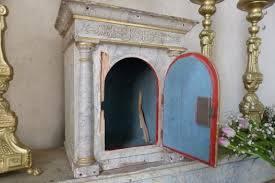 170415 Samedi Saint - Tabernacle ouvert