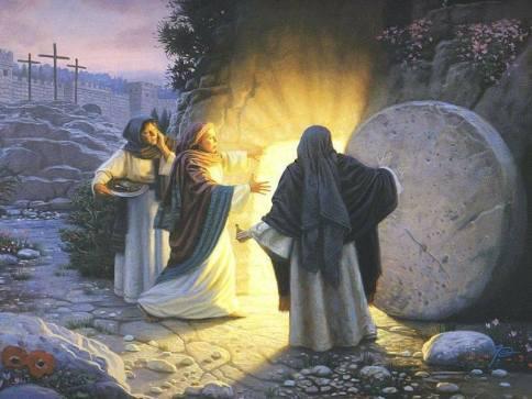 170416 Le tombe est vide, les femmes découvrent
