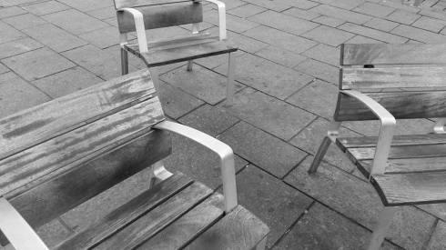 170420 Photos des bancs en noir et blanc