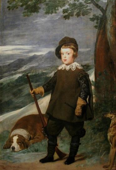 170421 Prince Charles des Asturies en tenue de chasse - Vélasquez