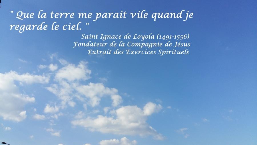 « Un beau ciel bleu»