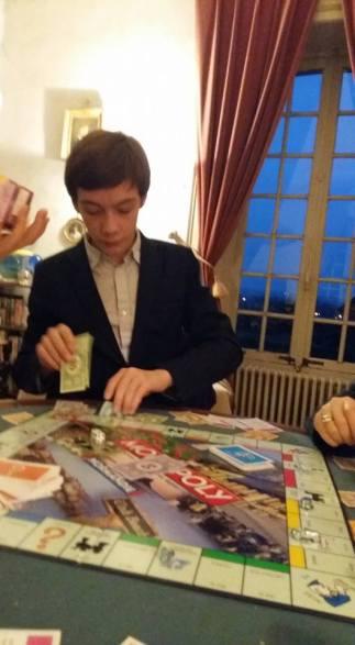 170428 16 ans Ephrem - Ephrem Jeu de Monopoly