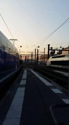 4170408 Gare de Lyon - TGV à quai