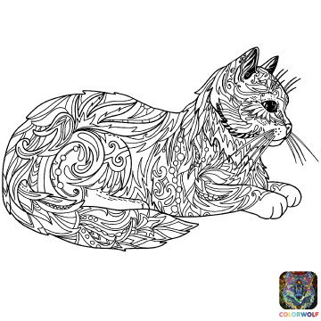 170503 Coloriage - Chat