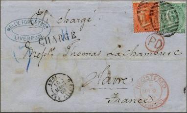 170506 Enveloppe timbrée en provenance d'Angleterre