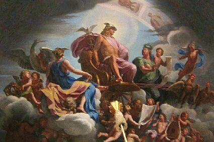 170516 Dieu Mercure - Plafond au chateau de Versailles