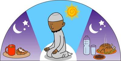170527 Dessin humouristique pour présenter le ramadan