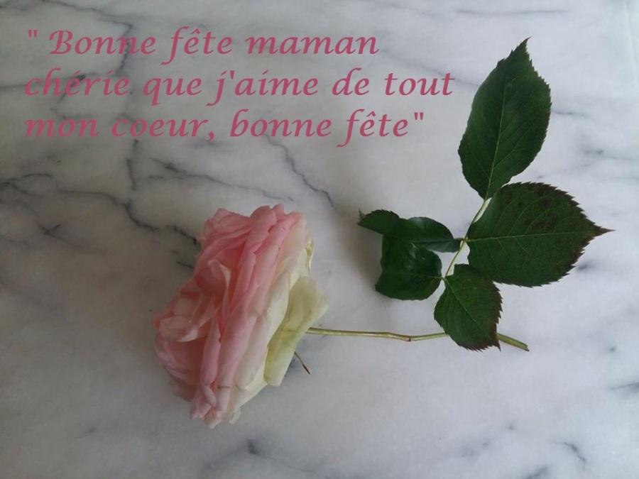 « Bonne fête maman»