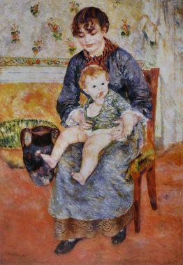 170528 Mère et Enfant - Pierre Auguste Renoir