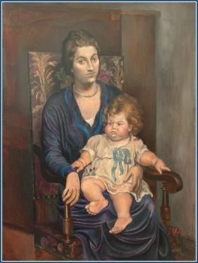 170528 Mme Rosemberg et sa fille de Picasso