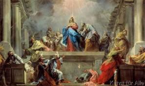 170604 La Pentecôte - tableau de Jean Restout