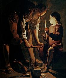 170614 Bonne nouvelle - St Joseph de Jésus de Georges de la Tour 1643 - Musée du louvre Paris