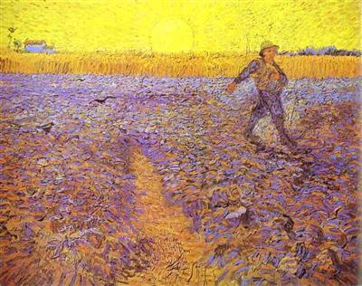 170615 Semeur et soleil couchant de Vincent van Gogh