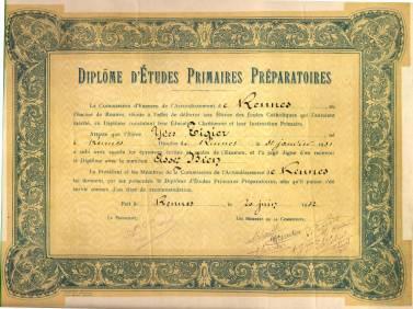 170616 Diplome_d'etudes_primaires_preparatoires_-_1942_-_Rennes
