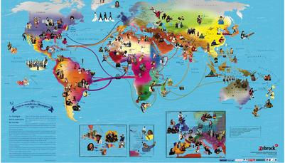 170621 Fête de la musique carte du monde