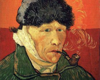 170630 Vincent_van_Gogh-autoportrait-a-loreille-coupee