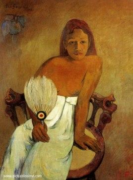 FB 170623 Eventail gauguin_femme_eventail_l