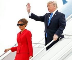 170715 Mélania et Donald Trump à Paris le 14 07 17