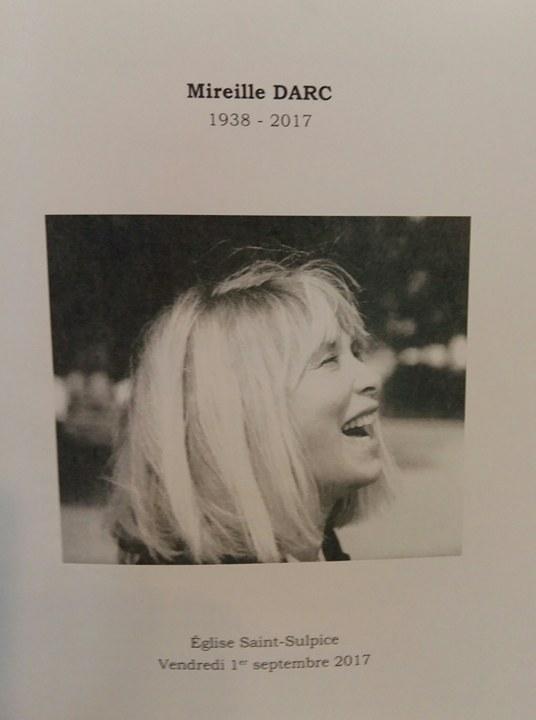 « Mireille Darc, Mimi a Dieu, adieu ! »         « Une star pour l'éternité »