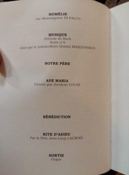 170901 Mireille Darc - Livret de messe page 4