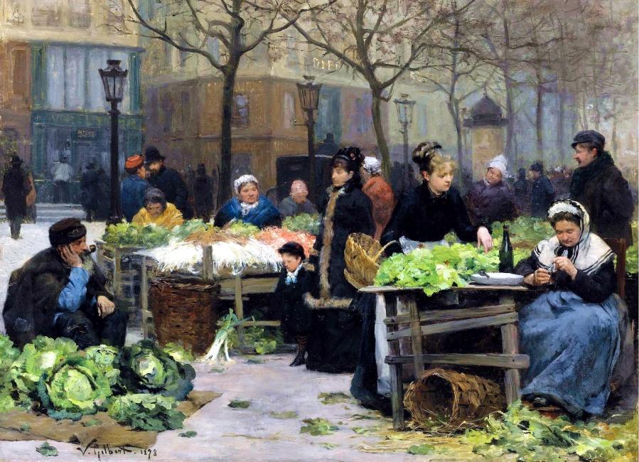 « Le marché de la Madeleine»