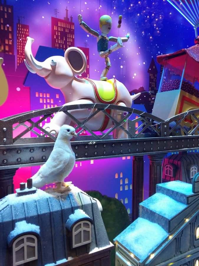 « Les pigeons des Galeries Lafayette»