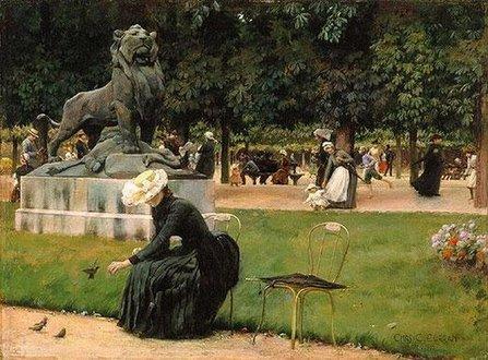 171127 Le jardin du Luxembourg - Degas