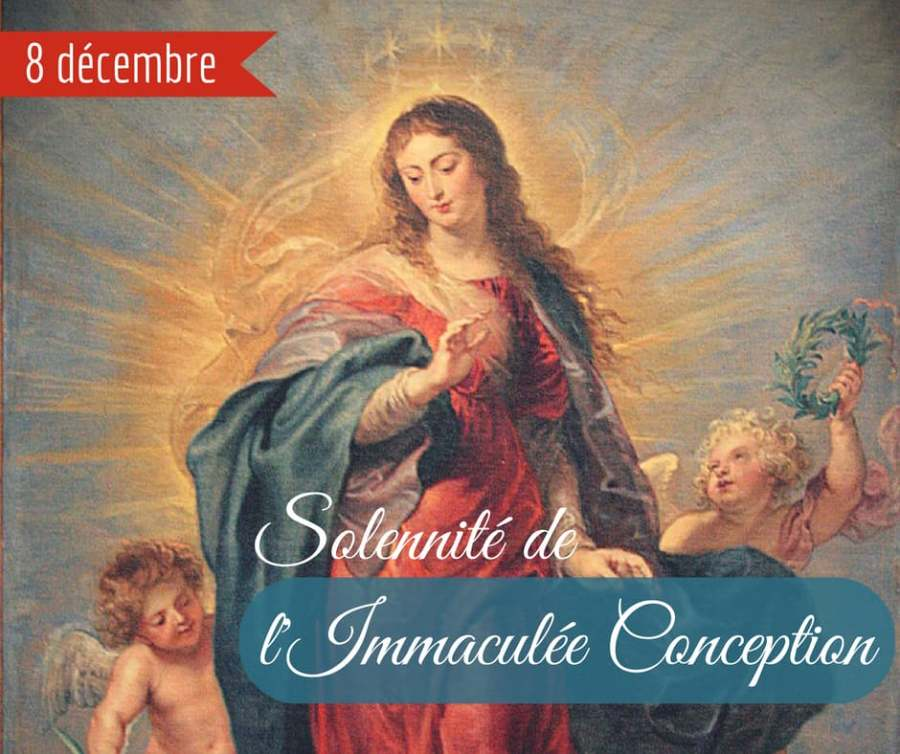 « Fête de l'Immaculée Conception»