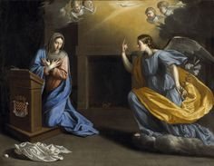 171224 4ème dimanche de l'Avent - Annonciation Philippe de Champaigne
