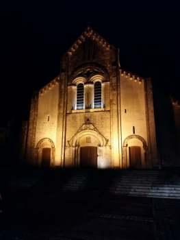 171229 Sainte Croix de Saint Lô - Illuminé décembre 2017