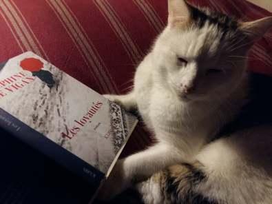 170104 Livre Les Loyautés - D de Vigan et Pacha