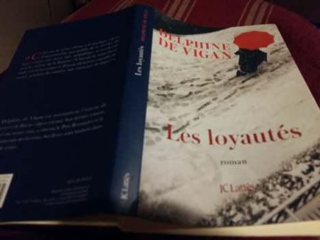 170104 Livre Les Loyautés - D de Vigan