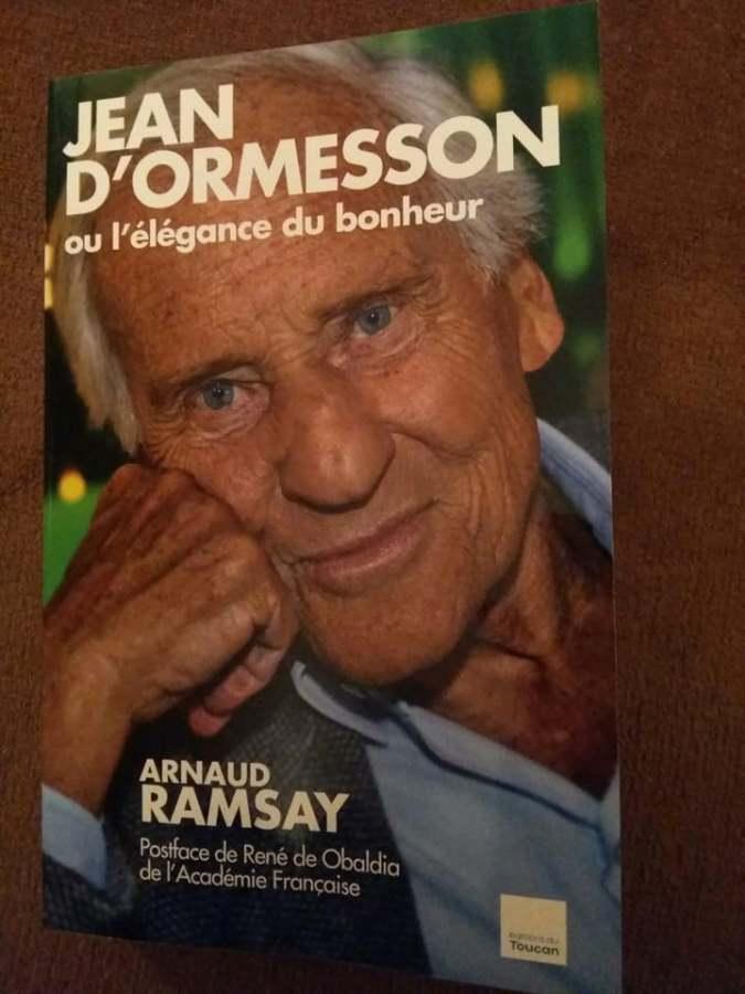 « Aller trop vite ou le livre posthume de Jean d'Ormesson »