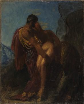 FB 180131 Le bon samaritain peint par Léon Bonnat - Musée de Bayonne